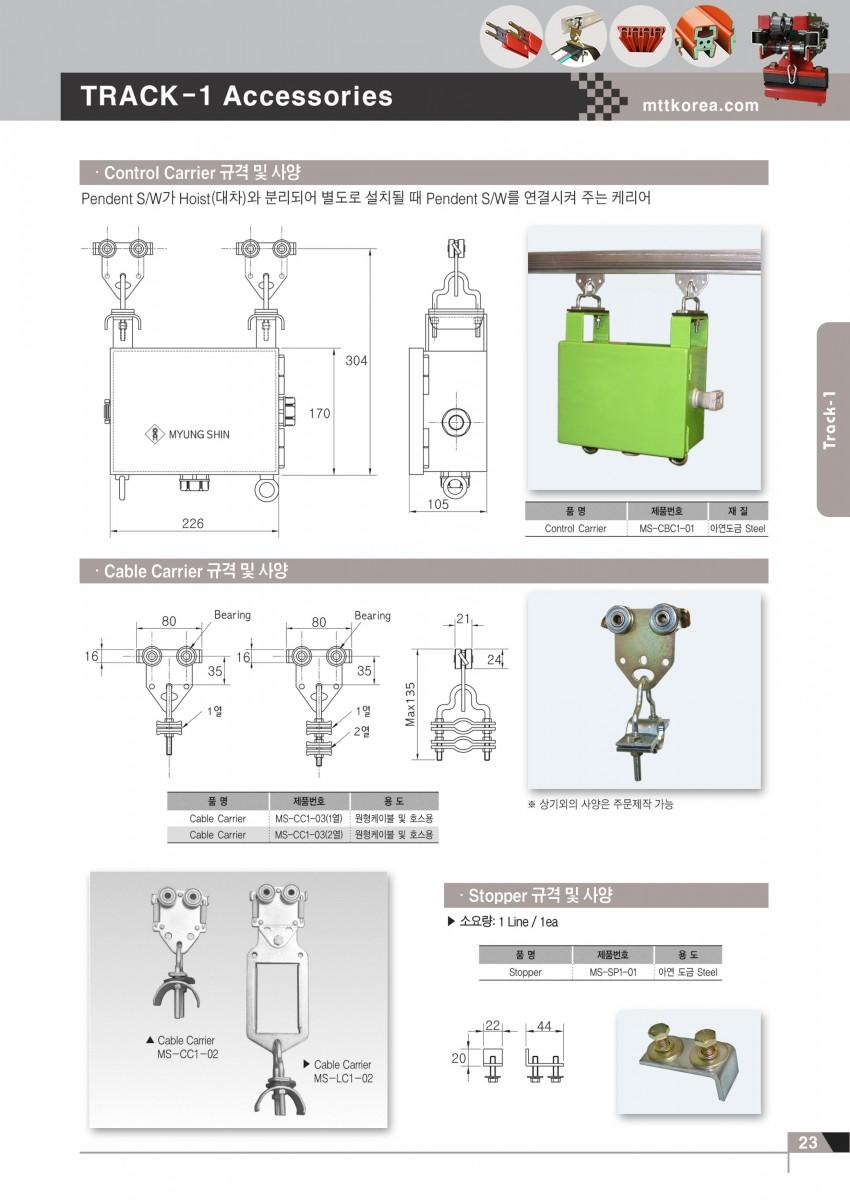 Công ty TNHH MTT Hàn Quốc Máng C cầu trục - Track system