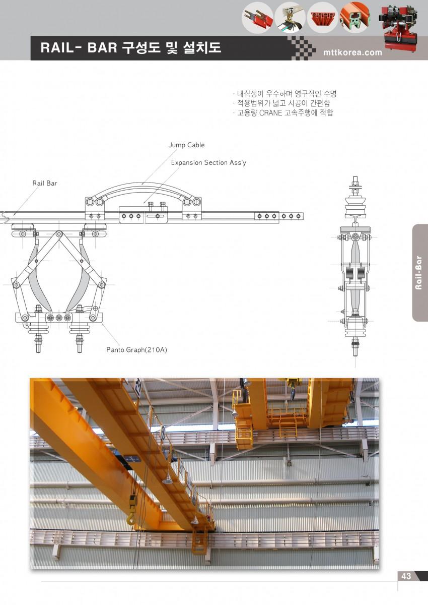 Công ty TNHH MTT Hàn Quốc Rail - bar - Ray điện an toàn