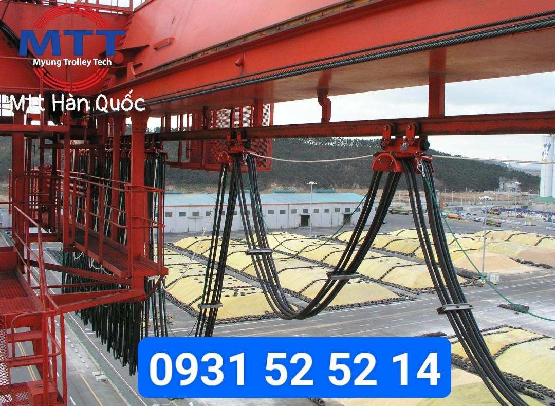 Công ty TNHH MTT Hàn Quốc Cáp dẹt cầu trục Hàn Quốc