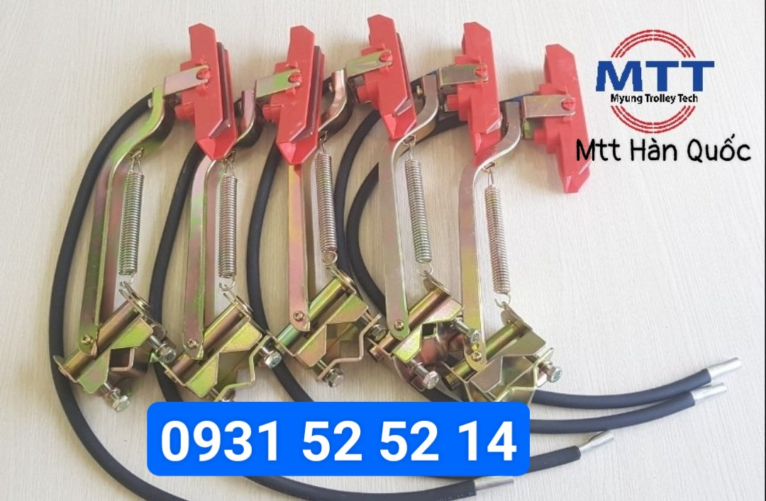 Công ty TNHH MTT Hàn Quốc Chổi lấy điện cầu trục 1P 3P