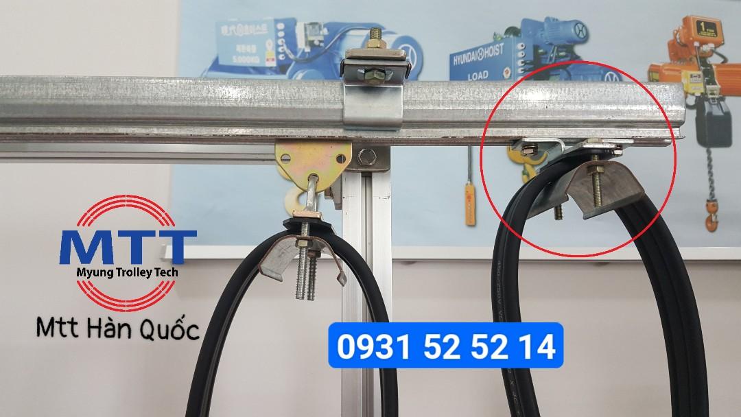 Công ty TNHH MTT Hàn Quốc Kẹp cố định cáp ray C cầu trục