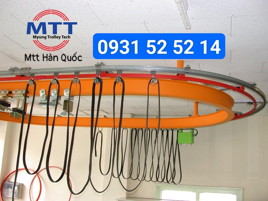 Công ty TNHH MTT Hàn Quốc Máng ray C cầu trục 30x40 loại nhôm