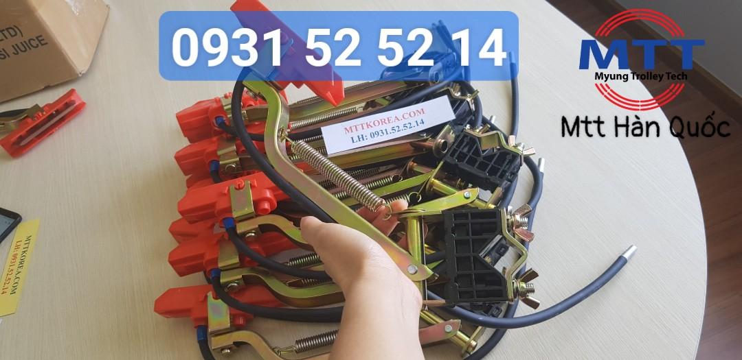 Công ty TNHH MTT Hàn Quốc Chổi tiếp điện cầu trục 3P