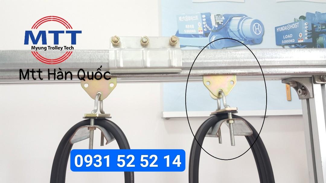 Công ty TNHH MTT Hàn Quốc Con lăn treo cáp ray C cầu trục