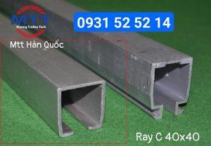 Máng ray C cầu trục 40x40