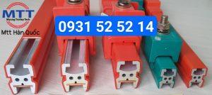 Ray điện cầu trục Heavy bar 500A-1800A Hàn Quốc