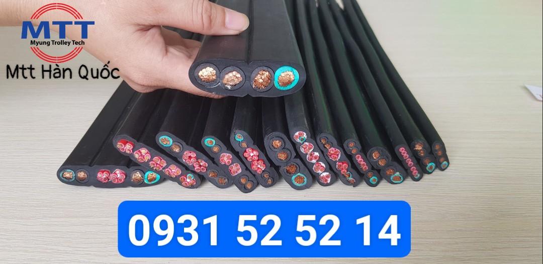 Công ty TNHH MTT Hàn Quốc Cáp dẹt cầu trục 10SQx4C+1.5SQx10C