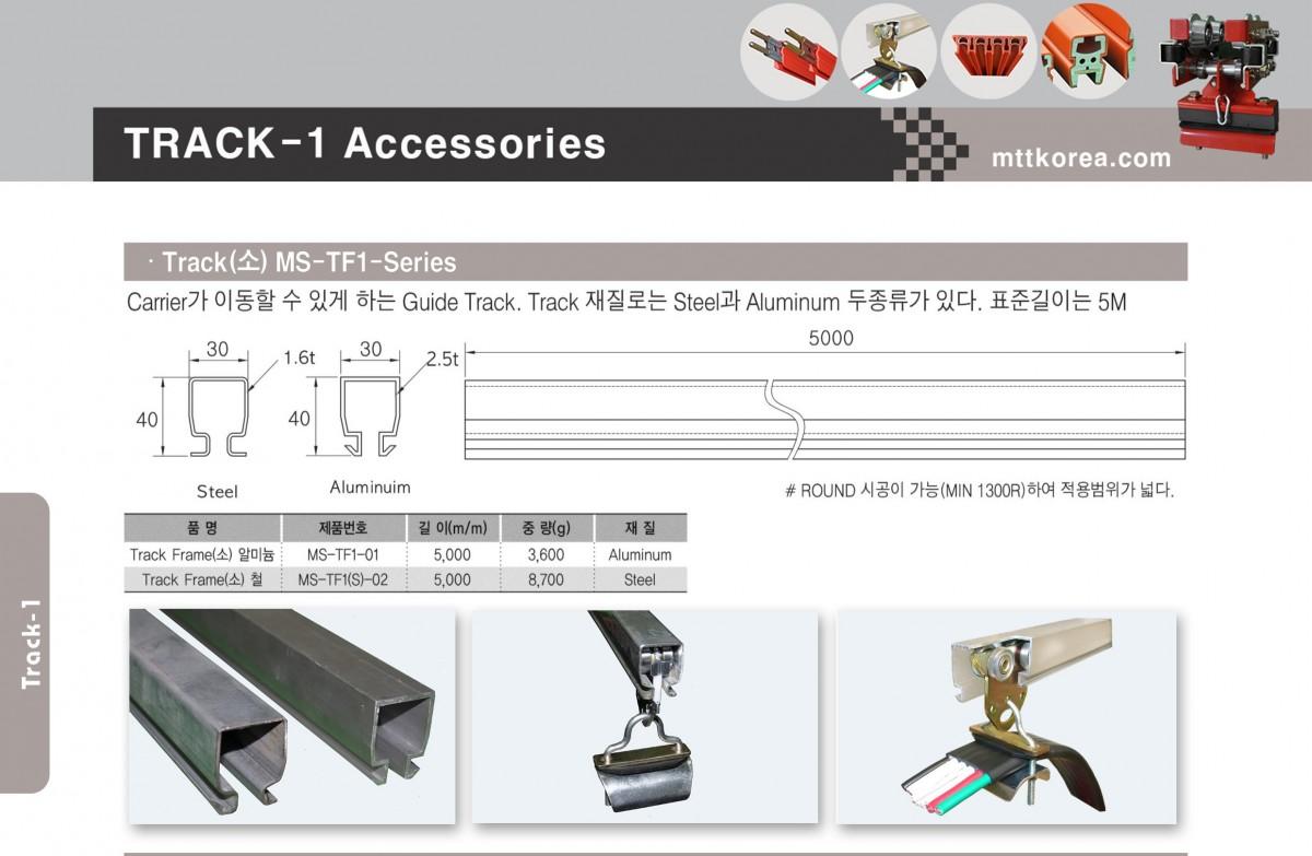 Thiết Bị Cầu Trục MTT Hàn Quốc Ray chữ C cho cầu trục