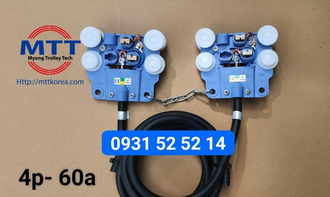Thiết Bị Cầu Trục MTT Hàn Quốc Ray điện dạng hộp kín 4P LCL
