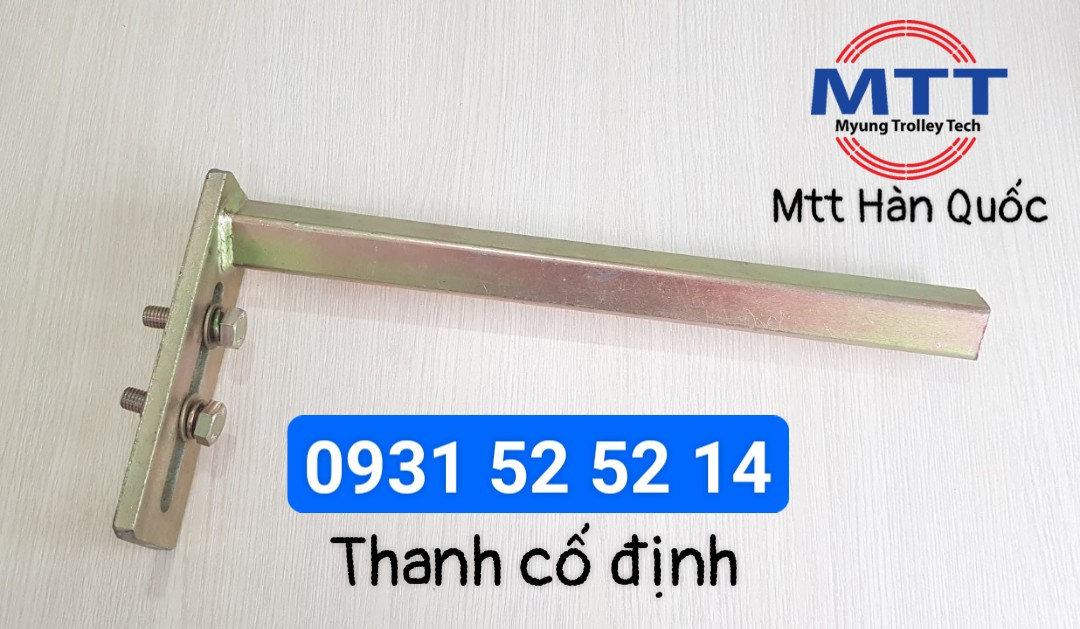 Công ty TNHH MTT Hàn Quốc Thanh cố định con lăn đầu cáp ray C cầu trục